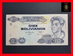 BOLIVIA 10 Bolivianos 2001 P. 223  Serie F  UNC - Bolivia