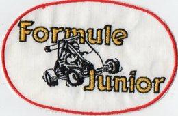 E02 - Sport Automobile - Ecusson 13 X 9 - Formule Junior - Ecussons Tissu