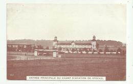 Stokkel - Stockel   *  Entrée Principal Du Champ D'aviation - Aeródromos