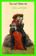 COUPLES - YOU CAN'T BLAME ME -  TRAVEL IN 1913 - - Couples
