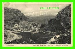 TAGLIASCOZZO, ITALIE - PARTE ALTA DELLA CITTA E CASTELLO MEDIOEVALE - TRAVEL - - Italie