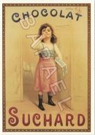 Publicité Sur Carte Postale - Chocolat Suchard (Fillette) (Recto-Verso) - Reclame