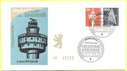 GERMANIA - GERMANY - Deutschland - ALLEMAGNE - Berlin - 1976 - 20 + 500 Industrie Und Technik - FDC - Berlin - [5] Berlín