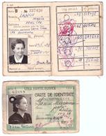 Romania - Carte De Identitate CFR - 1967 - Timisoara 2 Bucati - Autres