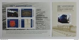 Young Island 2013** Klb.22-25, Bl.11. Locomotive In USA MNH [15;5] - Treinen