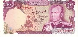 Iran P.102a 100 Rials 1974 Nc - Iran