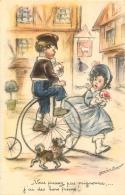 GERMAINE BOURET EDITION MD  B475  VOUS PRESSEZ PAS MIGNONNE J'AI DES BONS FREINS - Bouret, Germaine