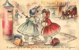 GERMAINE BOURET EDITION MD  B475  IL PARAIT QU'IL EST TRES JOLI LE BRIGAND QUI ATTAQUE LA DILIGENCE - Bouret, Germaine