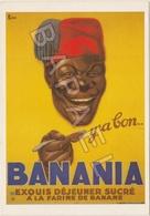Publicité Sur Carte Postale - ''Y'a Bon'' Banania (Crée Vers 1917) - Publicidad