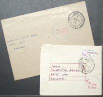 Zimbabwe - Taxed Cover Lot (2) To England Infla 2005 Mutare - Zimbabwe (1980-...)