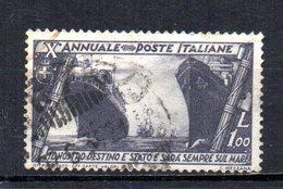 ITALIA 1932 CANCELLED - Gebraucht