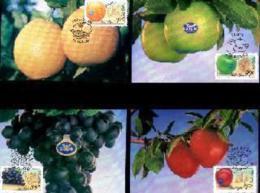 RSA, 1994, Mint Maxi Cards, MI Nr. 119-123, Export Products - Zuid-Afrika (1961-...)