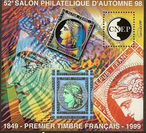 FRANCE Bloc CNEP N°28 (PARIS 1998) - Cote 10.00 € - CNEP