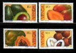 VENDA, 1983, MNH Stamp(s), Tropical Fruit,  Nr(s) 82-85 - Venda