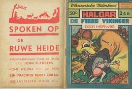 Vlaamsche Filmkens Nr 246 Halgar De Fiere Vikinger Door Herwig ( Averbode's Jeugdbibliotheek ) - Books, Magazines, Comics