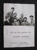 CALENDRIER 1971 (M1814) JACQUES RAYMOND En Zijn SEXTET (5 Vues) DORNSTRAAT 71 TEMSE - Calendriers