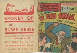 Vlaamsche Filmkens Nr 247 De Gele Straal Door Nicolet ( Averbode's Jeugdbibliotheek ) - Books, Magazines, Comics