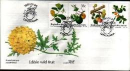 BOPHUTHATSWANA, 1991, Wild Fruit,   First Day Cover Mint 2.22 - Bophuthatswana