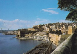 Postcard Malta Upper Barrakka Valletta My Ref  B22973 - Malta