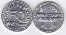 Germany - 10 Pcs X 50 Pfennig 1922 - D UNC Lemberg-Zp - [ 3] 1918-1933 : Weimar Republic
