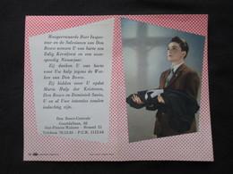 CALENDRIER 1961 (M1814) DON BOSCO KALENDER 1961 (2 Vues) Don-Bosco Centrale Sint-Pieters Woluwe - Petit Format : 1961-70
