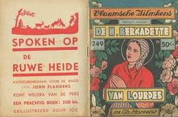 Vlaamsche Filmkens Nr 249 De H. Bernadette Van Lourdes Door Gh. Martens ( Averbode's Jeugdbibliotheek ) - Livres, BD, Revues