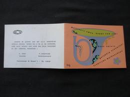 CALENDRIER 1969 (M1814) ACV (2 Vues) A. Poot & P. VANSINTJAN - Petit Format : 1961-70
