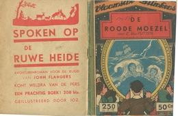 Vlaamsche Filmkens Nr 250 De Roode Moezel Door E. Van Putten ( Averbode's Jeugdbibliotheek ) - Books, Magazines, Comics