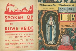 Vlaamsche Filmkens Nr 251 Lourdes Door Gh. Martens ( Averbode's Jeugdbibliotheek ) - Livres, BD, Revues