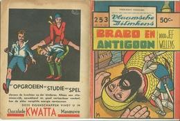 Vlaamsche Filmkens Nr 253 Brabo En Antigoon Door Jef Wellens ( Averbode's Jeugdbibliotheek ) KWATTA - Livres, BD, Revues
