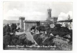 SCARPERIA - PALAZZO VICARILE E TORRE DELL'ARNOLFO - VIAGGIATA FG - Firenze (Florence)
