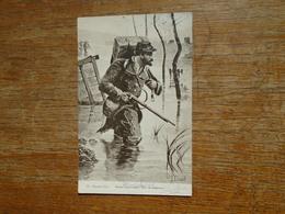Guerre 1914 , Soldat Traversant L'yser En éclaireur - Guerre 1914-18