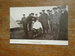 Guerre 1914 , Un Brin De Toilette Au Campement Anglais - Guerre 1914-18