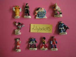 Série Complète De 10 Fèves En Porcelaine - ASTRO BOY I - 2006 ( Feve Figurine Miniature ) - Characters