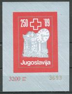 Yougoslavie Bloc-feuillet YT N°?? Semaine De La Solidarité (NON DENTELE) Neuf ** - Blocs-feuillets