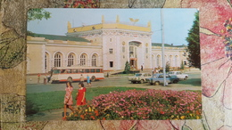 Ukraine. Rovno Bahnhof - Old Railway Station  - Old USSR Postcard -  1970s - Estaciones Sin Trenes