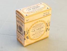 """Cure-dents """"LE NEGRI"""", Boite Carton Contenant Encore 4 Cure-dents - Boîtes"""