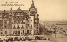BELGIQUE -FLANDRE OCCIDENTALE - KNOCKE-ZOUTE - Grand Hôtel Du Zoute Et Panorama Des Bains - Gand Hôtel Van De Zoute .... - Knokke