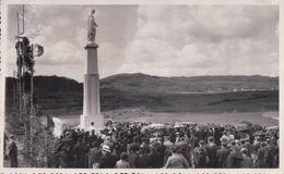 CARTE PHOTO CHAMPDOR Inauguration De La Vierge 8 Juin 1941 La Foule - France
