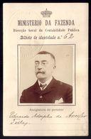 BILHETE De IDENTIDADE Nº62 Ministero Da Fazenda - Dir.Geral Contabilidade. 1900s PORTUGAL - Abonnements Hebdomadaires & Mensuels