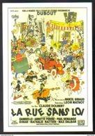 Carte Postale : (cinéma Affiche Film) La Rue Sans Loi - Affiches Sur Carte