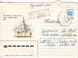 MOLDOVA   MOLDAVIE   MOLDAWIEN   MOLDAU  1992 Church , Architecture ,  Used Pre-paid Envelope - Moldova