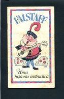 Livrinho Publicitario Comprimidos BAYER / ASPIRINA. Vintage Advertising Leaflet CARTOON Pills ASPIRIN. Portugal - Publicités