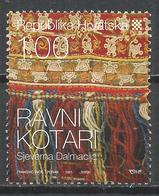 Croatia 2008. Scott #703 (U) Details From Native Costume, Ravni Kotari * - Croatie
