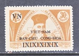 VIET MINH  1 L 3 A   Perf. 13 1/2      *    RHODES - Vietnam
