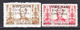 VIET MINH  1 L 15-16  *  ADMIRAL  ANDRE  COURBET - Viêt-Nam