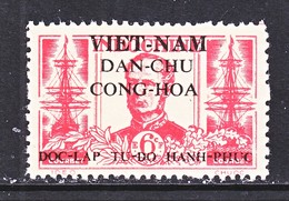 VIET MINH  1 L 16   *  ADMIRAL  ANDRE  COURBET - Viêt-Nam
