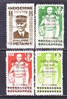 VIET MINH  1 L 21-24   *  PETAIN & ADMIRAL  CHARNER - Vietnam