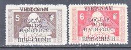 VIET MINH  1 L 25 - 6   *   ADMIRAL  R. DE  GENOUILLY - Viêt-Nam