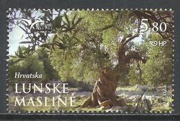 Croatia 2017. Scott #1043 (U) Olive Grove, Lun * - Croatie
